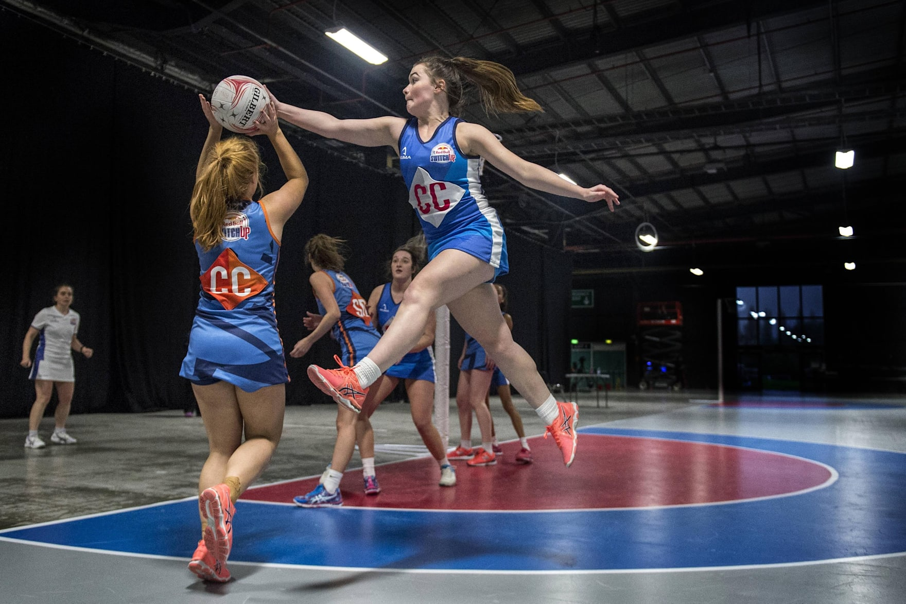 The rules and regulations of playing in a Netball match